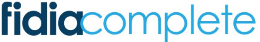 Fidia Complete Logo